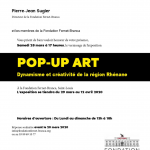 POP-UP ART   FONDATION FERNET-BRANCA ST-LOUIS